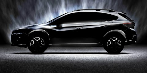 2017 Subaru XV teased ahead of Geneva unveiling - UPDATE