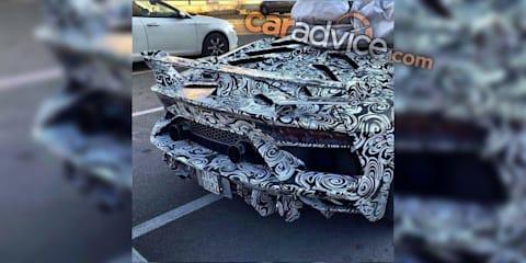 Lamborghini Aventador 'Performante' spied