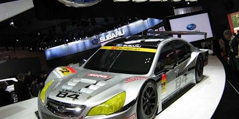 Subaru stand at Tokyo Motor Show