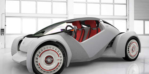 Local Motors Strati mounts 3D printed body, chassis on Twizy drivetrain