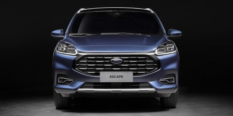 2020 Ford Escape: Chinese-market model gets new face