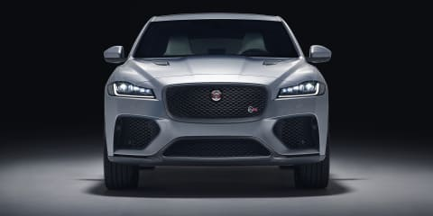 2019 Jaguar F-Pace SVR revealed - UPDATE