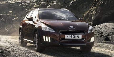 2012 Peugeot 508 RXH diesel hybrid under consideration for Australia