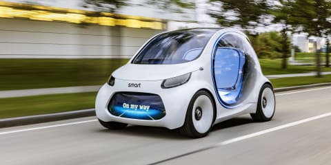 Smart Vision EQ Fortwo revealed ahead of Frankfurt debut