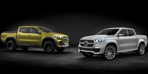 Mercedes-Benz X-Class pick-up concept revealed