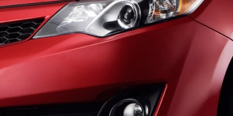2012 Toyota Camry teased ahead of Australian launch in Q4 2011
