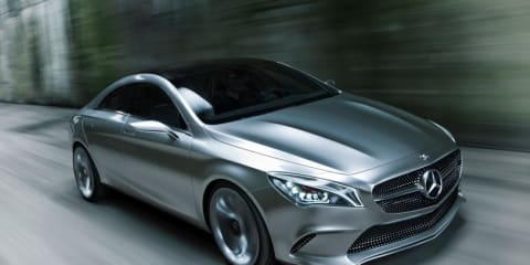 Mercedes-Benz CLA preview concept leaked