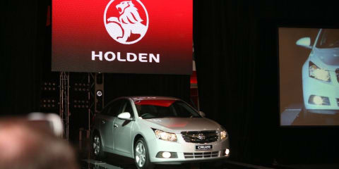 2009 Holden Cruze at MIMS