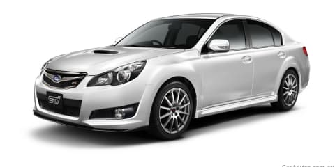Subaru Legacy (Liberty) 2.5GT tS JDM special edition models