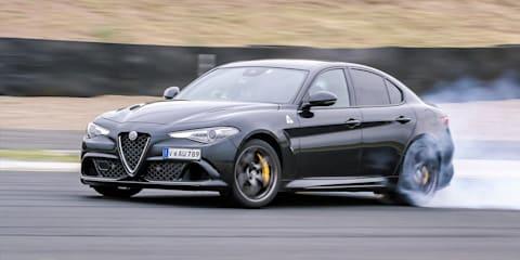 2017 Alfa Romeo Giulia Quadrifoglio track review
