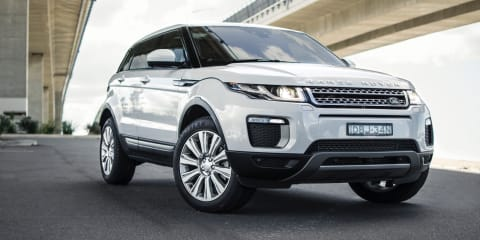 2016 Range Rover Evoque recalled