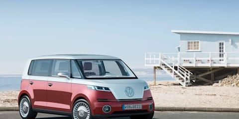 Volkswagen Bulli Concept at New York Show