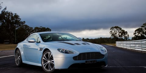 Aston Martin V12 Vantage Exclusive Track Test
