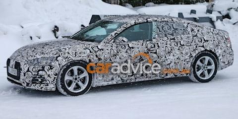 2017 Audi A5 Sportback spied testing