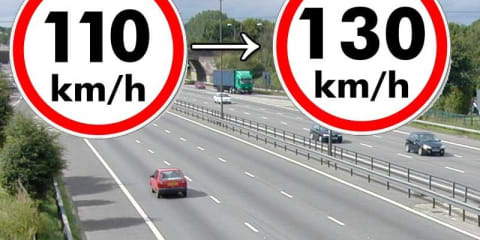 130km/h highway speed limits coming to the UK