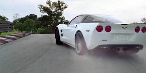 Video: 2011 Chevrolet Corvette still building rockets TVC