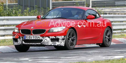 BMW Z4 M-Sport Package spy pics