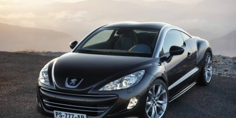 2010 Peugeot RCZ Sports Coupe released in Australia