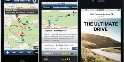 BMW's The Ultimate Drive phone app suggests best driving roads