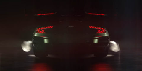 Aston Martin Vulcan teaser video shows off the car's rear
