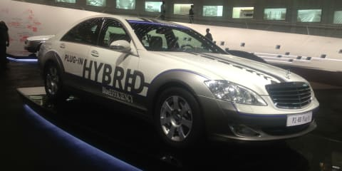 2013 Mercedes-Benz S-Class: new plug-in hybrid revealed inadvertently