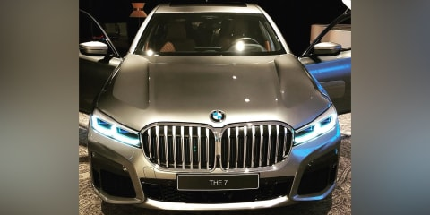 2019 BMW 7 Series facelift leaked