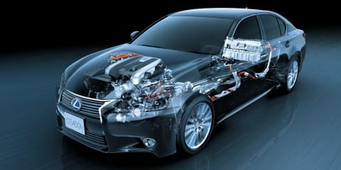 Lexus ready to fight new German hybrids