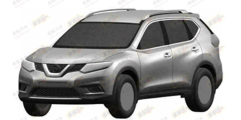 Nissan X-Trail: patent images reveal crossover styling for third-gen SUV