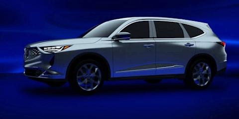 2020 Acura MDX, mystery flagship sedan leaked