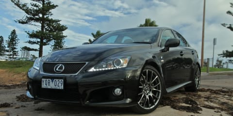 Lexus IS-F Review