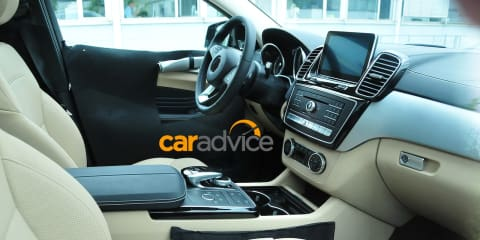 Mercedes-Benz MLC interior revealed
