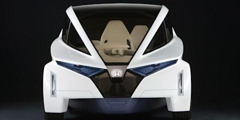 Honda P-NUT concept channels McLaren F1