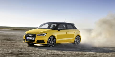 "Audi S1 Quattro Sportback confirmed : price tag of ""about $50K"" for tiny turbo terror"