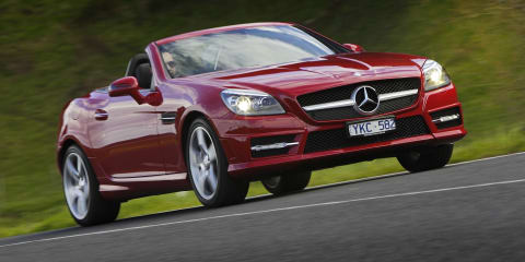 2015-16 Mercedes-Benz SLK recalled for brake fix