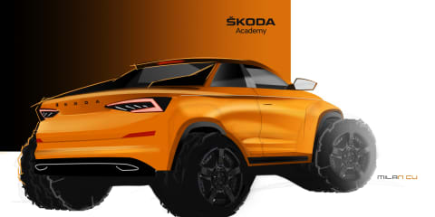 Skoda Kodiaq ute concept coming