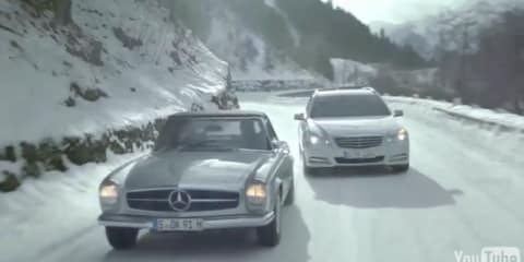 Mercedes-Benz TV advert: Sunday driver