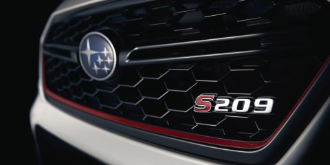 Subaru WRX STI S209 teased again