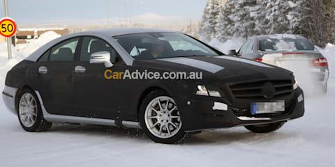 2011 Mercedes-Benz CLS-Class spy photos