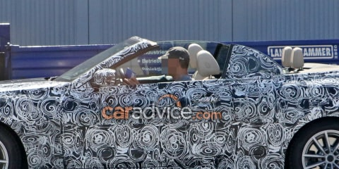2019 BMW 4 Series Convertible spied