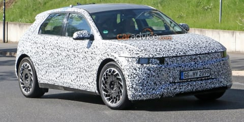 Hyundai 45 electric car spy photos - UPDATE