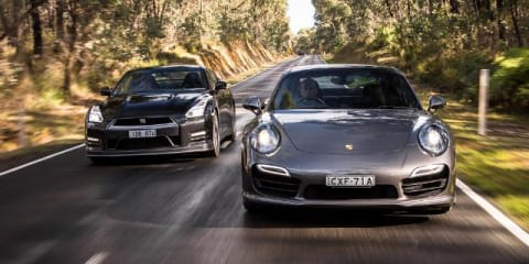 2015 Nissan GT-R v Porsche 911 Turbo Comparison Review