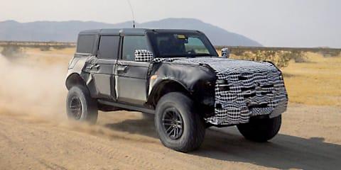 Oops: Bronco Raptor confirmed on Ford engineer's career profile – UPDATE: Could it be badged Warthog?