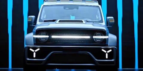 GWM Wey Tank 300 Cybertank: Concept off-roader set for Shanghai reveal