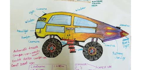 When kids design cars