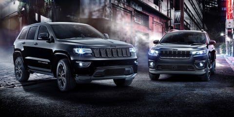 2019 Jeep Cherokee, Grand Cherokee Night Eagle unveiled