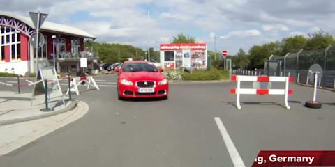 Jaguar at the Nurburgring Video