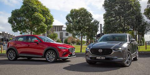 2021 Mazda CX-3 v CX-30 comparison review