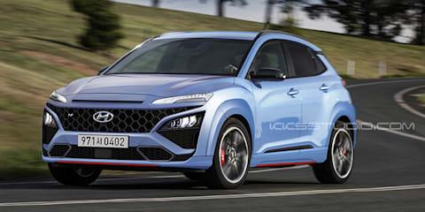 2021 Hyundai Kona N coming soon, Australia likely - UPDATE: Spied on video at the Nurburgring