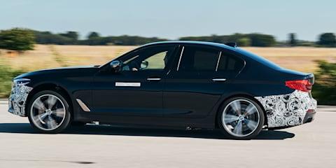 BMW Power BEV: 530kW sedan prototype outed