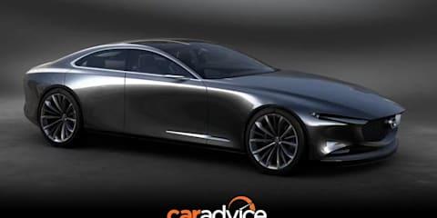 Mazda Vision Coupe concept showcases next-generation design language